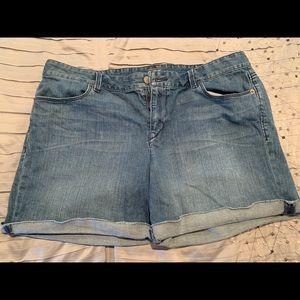 Ann Taylor denim shorts